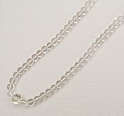 水晶ネックレスを念珠にリフォーム